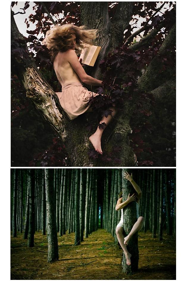 Women in trees 002