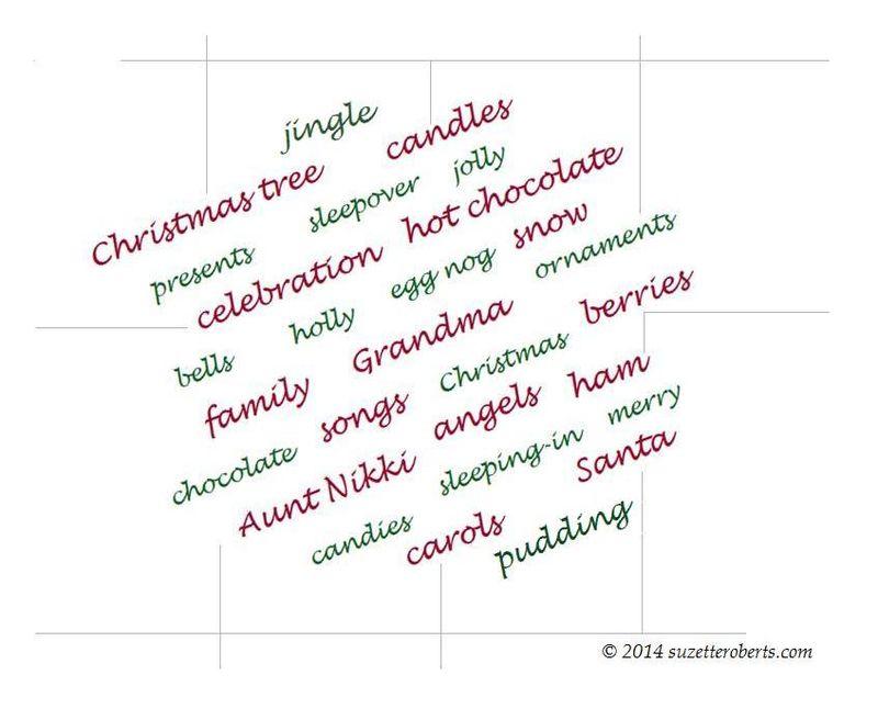 Suzetteroberts - holiday words - december 2014