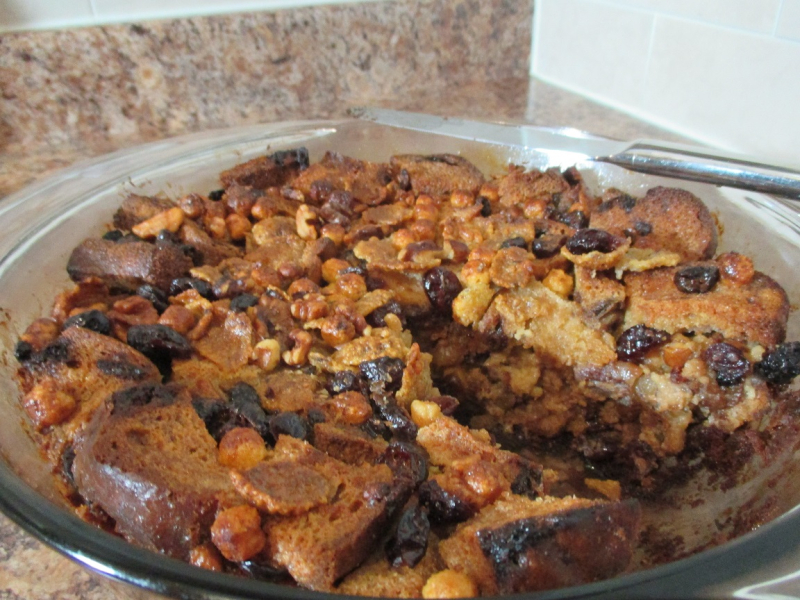 Suzetteroberts - gluten free fruit and nut bread pudding - 10 13 16 (6)