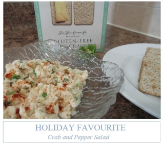 HOLIDAY FAVORITE - CRAB & PEPPER SALAD
