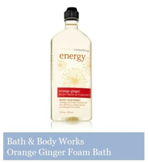 Bath & Body Works - Orange Ginger Foam Bath
