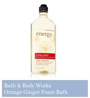 Bath & Body Works - Orange Ginger Foam Bath