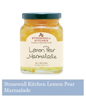 Stonewall Kitchen - Lemon Pear Marmalade