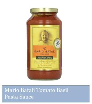 Mario Batali Tomato Basil Pasta Sauce