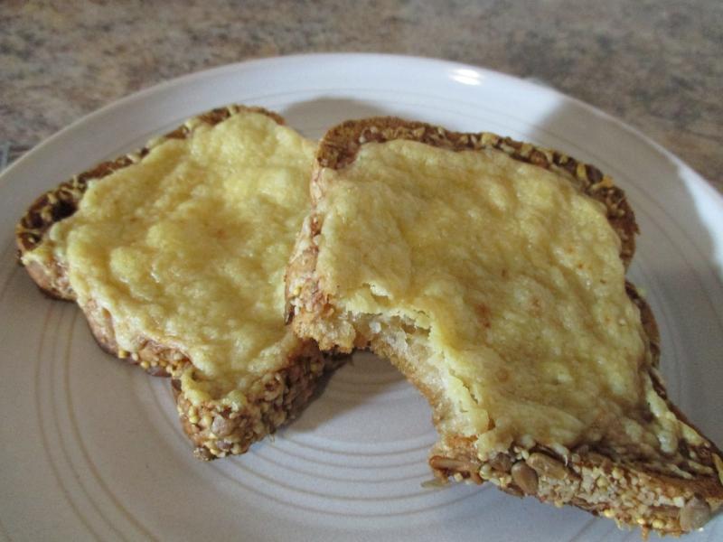 Suzetteroberts - cheesy toast mornings