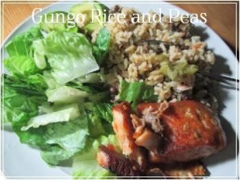 Suzetteroberts - jamaican gungo rice and peas - december 2017