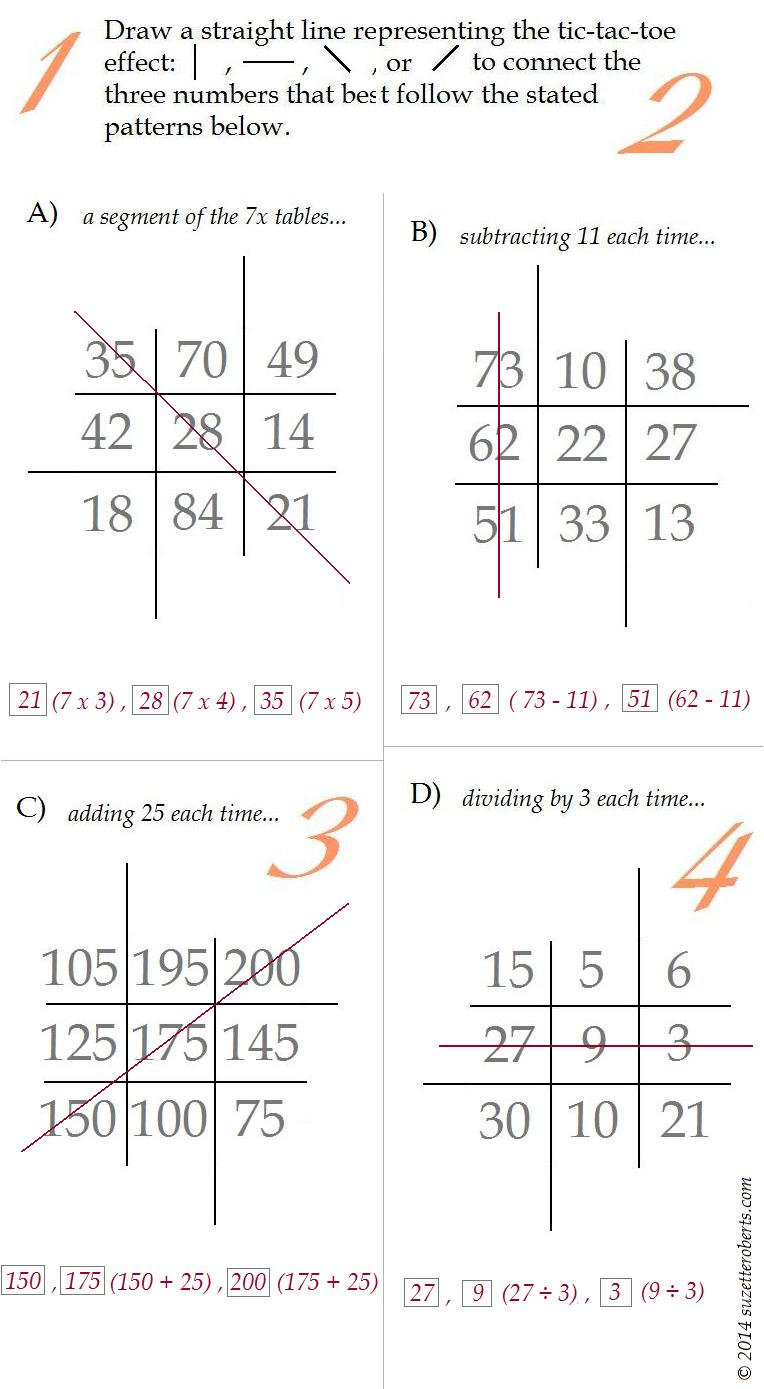 Suzetteroberts - you do the math - answers for 10 29 14