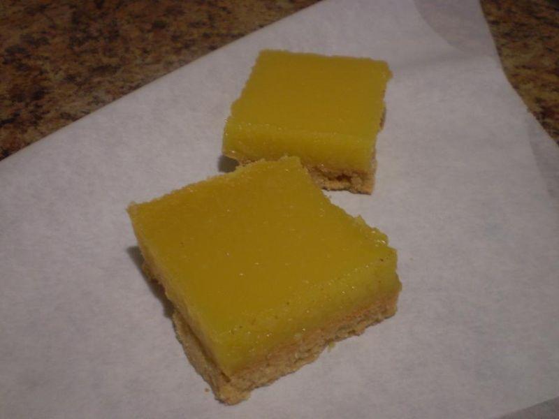 Suzetteroberts - food and drink - lemon squares