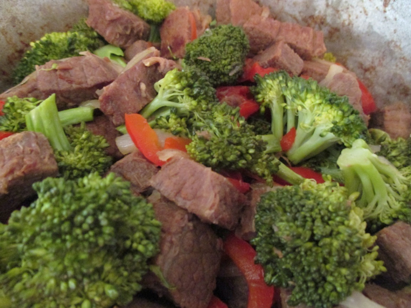Suzetteroberts - beef and broccoli stir fry - july 2016