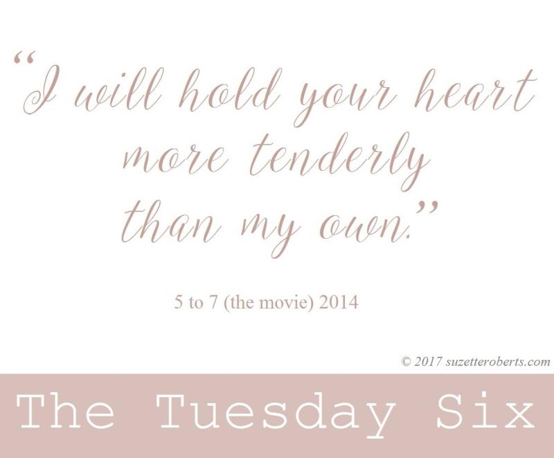 Suzetteroberts - the tuesday six - 02 21 17