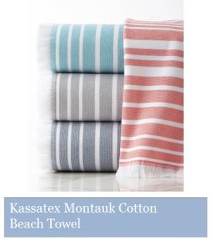 Kassatex Cotton Beach Towel