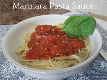 Suzetteroberts - marinara pasta sauce
