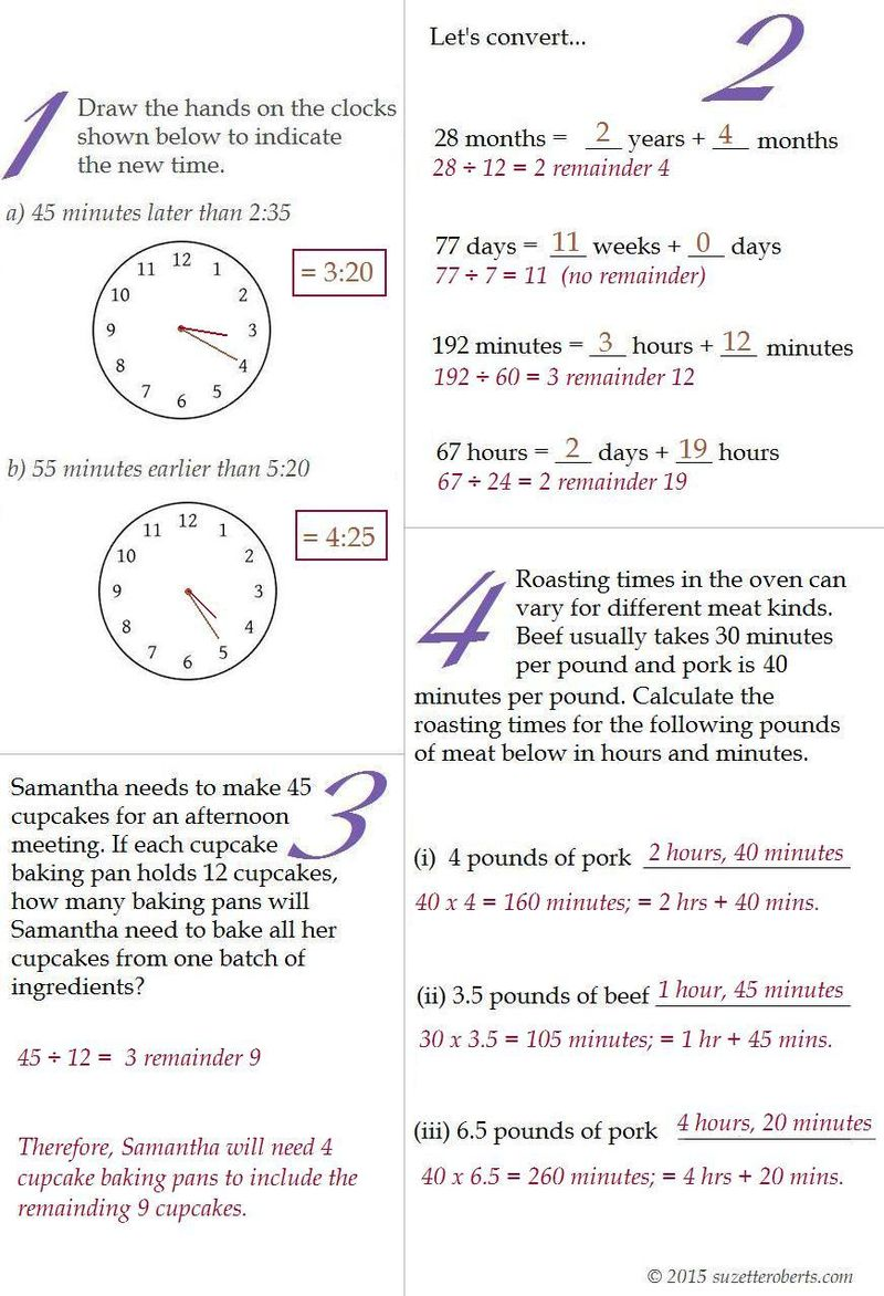 Suzetteroberts - answers for you do the math 02 25 15