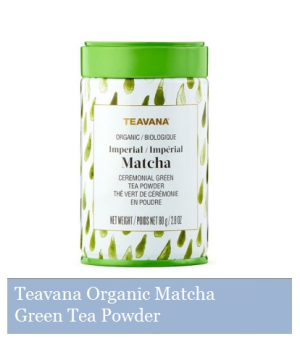 Teavana Organic Matcha Ceremonial Green Tea Powder