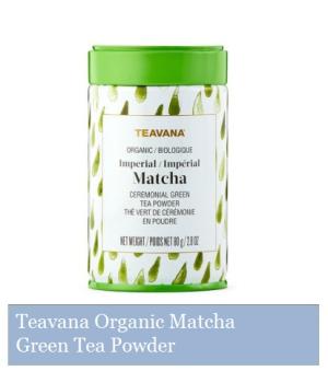 Teavana Organic Matcha Ceremonial Green Tea Powder