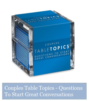 Couples Table Topic Cards