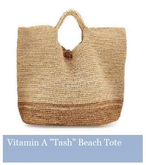 Vitamin A Tash Beach Tote