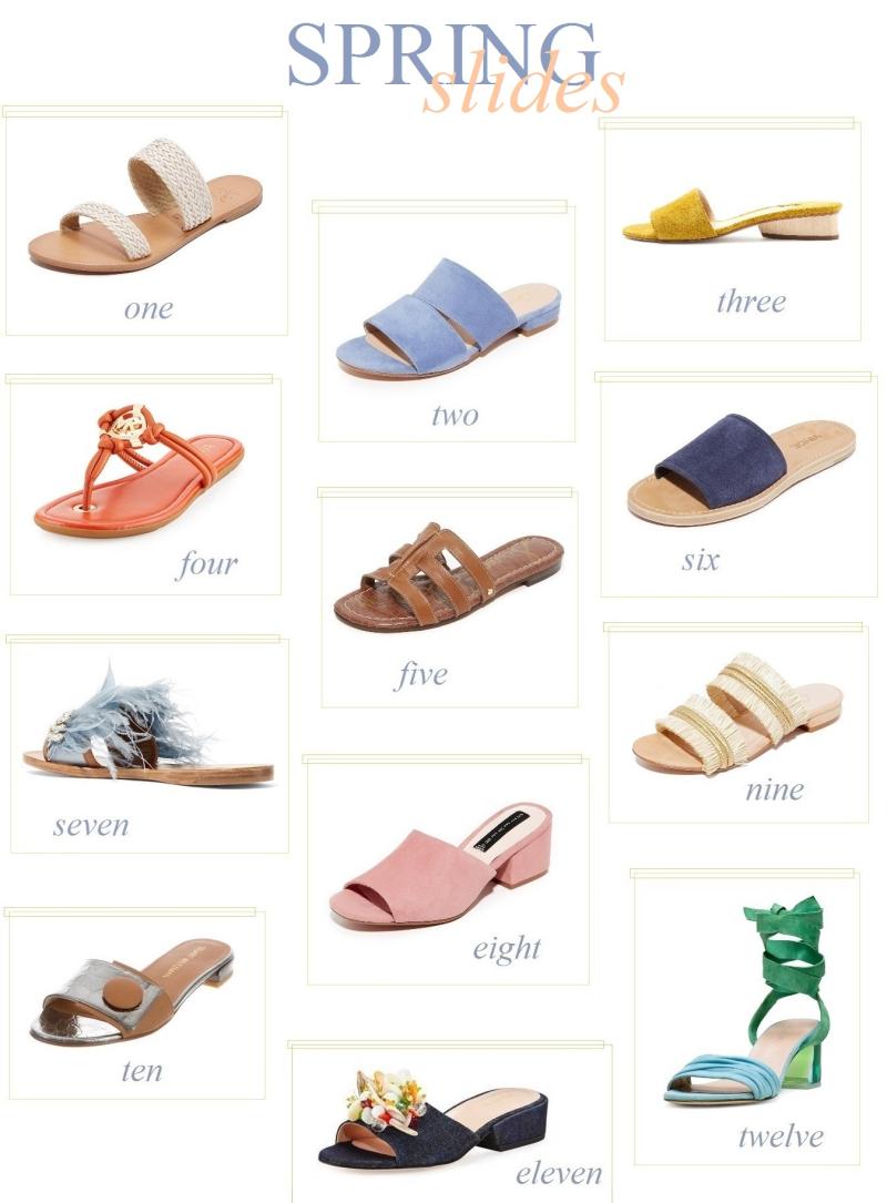Suzetteroberts - fashion - spring slides - 04 19 17