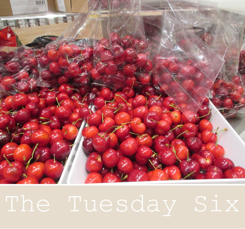 Suzetteroberts - the tuesday six - 05 30 17