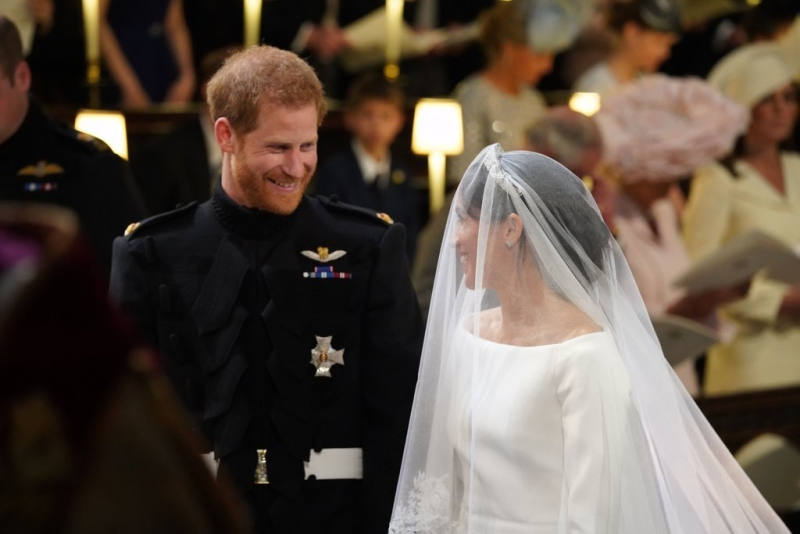 Suzetteroberts - harry and meghan - the royal wedding - may 19 2018 - at the altar
