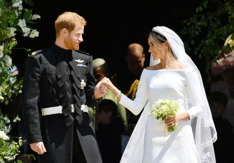 Suzetteroberts - harry and meghan - the royal wedding - may 19 2018 - just married (2)