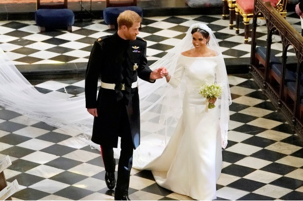 Suzetteroberts - harry and meghan - the royal wedding - may 19 2018 - just married