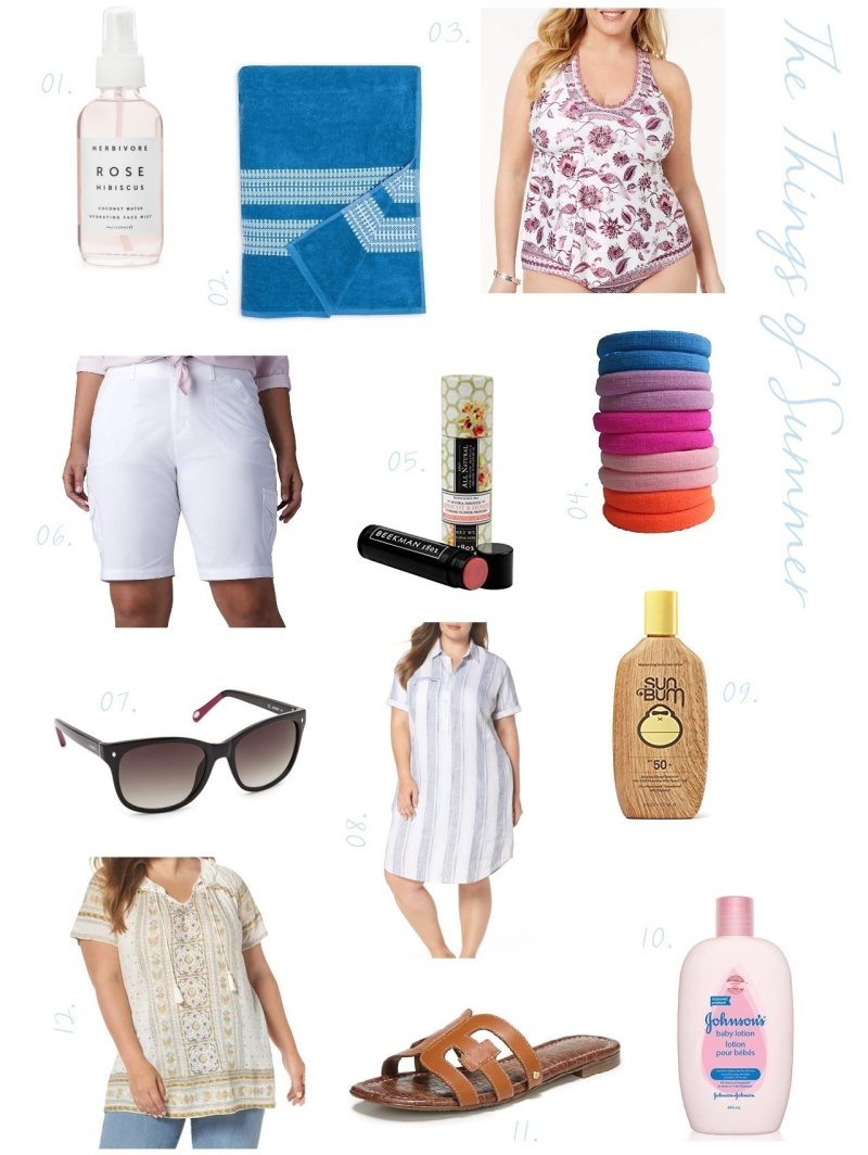 Suzetteroberts - fashion - the things of summer - july 2018