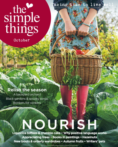 Suzetteroberts - magazine moments - 10 2018 - the simple things