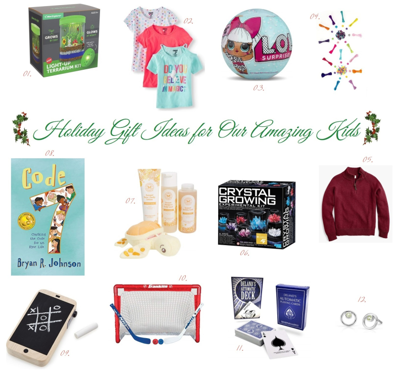 Suzetteroberts - holiday gift ideas for our kids - 11 2018