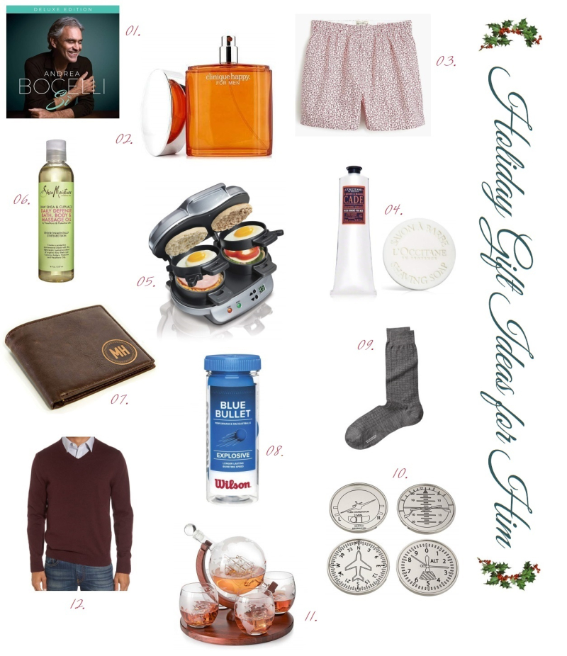Suzetteroberts - holiday gift ideas for him - 12 2018