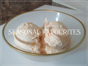 Suzetteroberts - seasonal favourites - blood orange ice cream