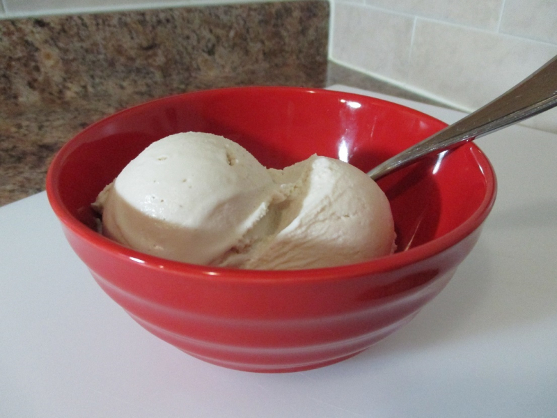Suzetteroberts - frozen flavours - pure maple butter ice cream