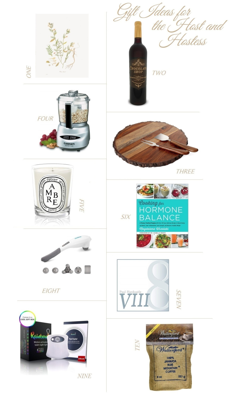 Suzetteroberts - gift ideas for the host and hostess - 11 2018