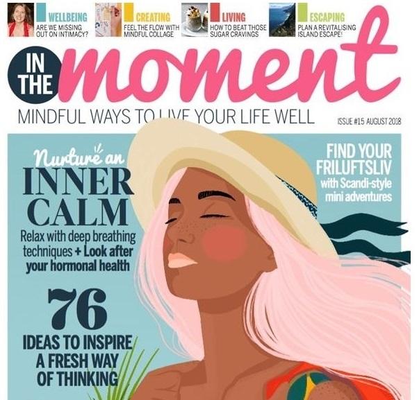 Suzetteroberts - magazine moments - calm moment - 08 2018