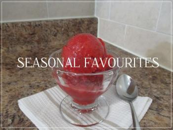 Suzetteroberts - seasonal favourites - strawberry sorbet