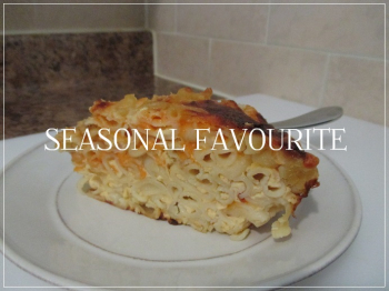 Suzetteroberts - seasonal favourites - the classic macaroni and cheese casserole