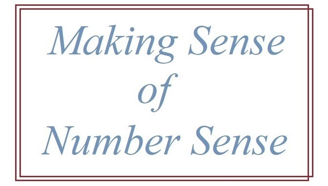 Suzetteroberts - classroom connections - 01 2019 - making sense of number sense