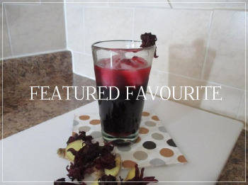 Suzetteroberts - featured favourite - caribbean sun dried sorrel iced tea