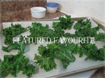 Suzetteroberts - featured favourite - homemade kale chips