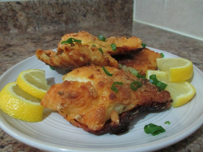 Suzetteroberts - food and drink - 03 2020 - crunchy baked cod
