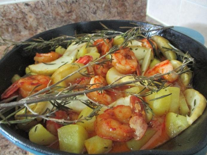Suzetteroberts - food - 09 2020 - apple cider glazed shrimp - done!