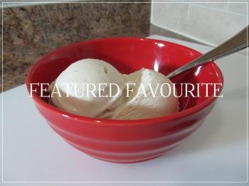 Suzetteroberts - featured favourite - pure maple butter ice cream