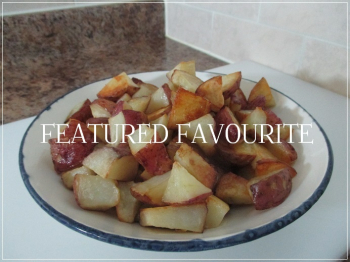 Suzetteroberts - featured favourite - oven roasted red potatoes