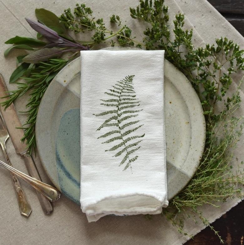 Suzetteroberts - art - 07 2021 - june & december - wild fern napkins (2)