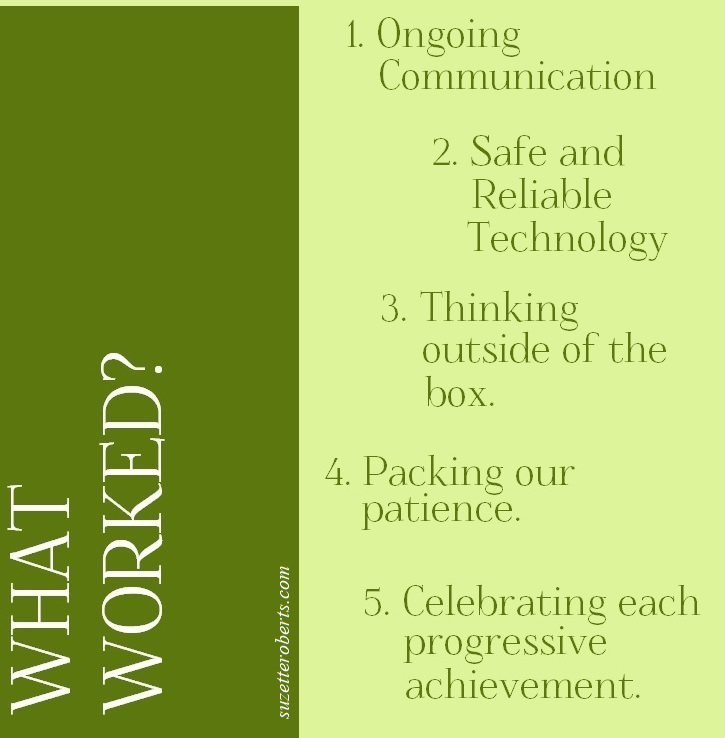 Suzetteroberts - classroom connections - 08 2021 - what worked - looking back at 2020 - 2021